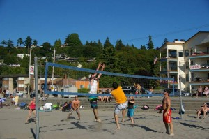 Sandbox Alki Volleyball Net
