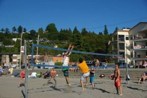 Sandbox Alki Volleyball Net