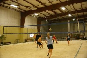 Indoor Volleyball League Running