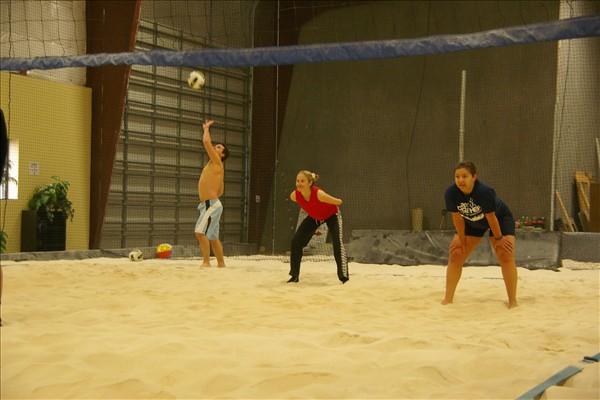 Sandbox Sports Indoor Volleyball League Serve