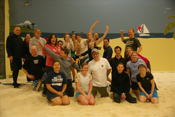 Sandbox Sports Indoor Volleyball Group Pic
