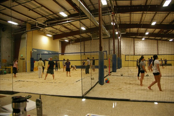 Sandbox Sports Indoor Volleyball League Night