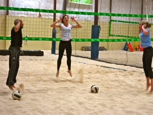 Julie Sandbox Plyometrics Training