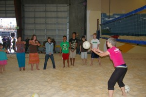volleyball for kids camp