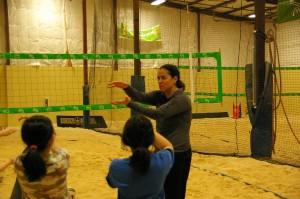 jen baklenko volleyball clinic